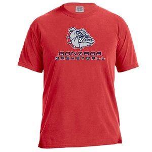 Gonzaga Bulldogs Basketball Energy Tee NWT M